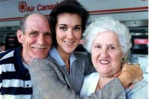 Adhémar Dion, Céline Dion, Thérèse Dion (Photo Gilles Lafrance / Le Journal de Montréal)