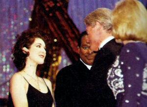 Céline Dion, Luther Vandross, Bill Clinton, Hillary Clinton