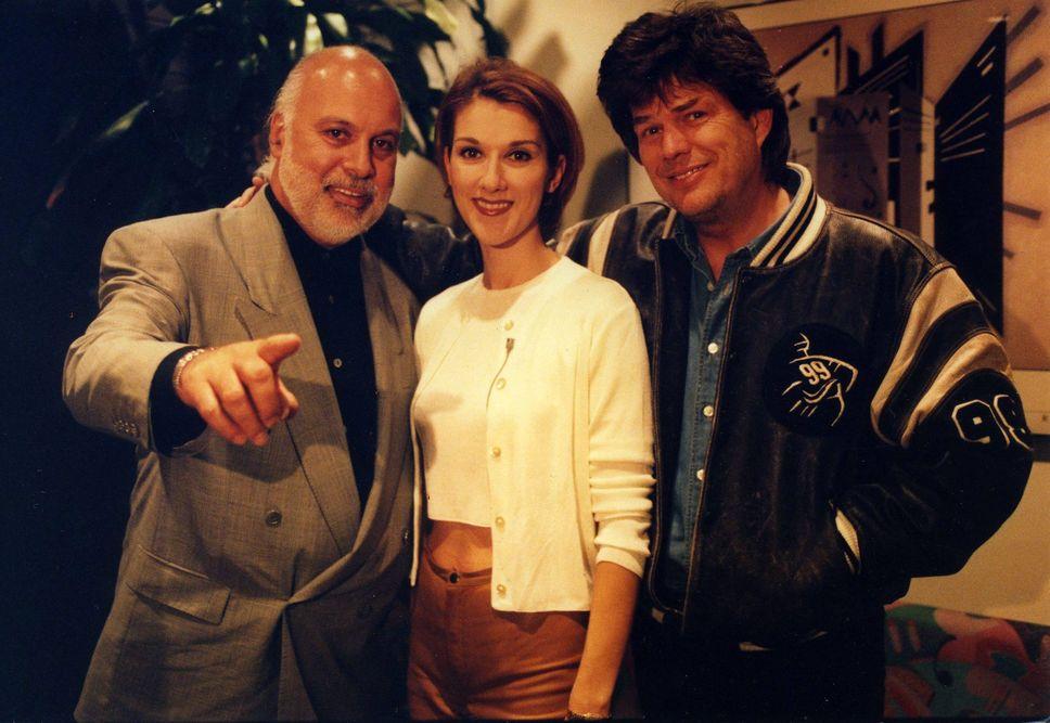 René Angélil, Céline Dion, David Foster (Source: Archives Le Journal de Montréal)