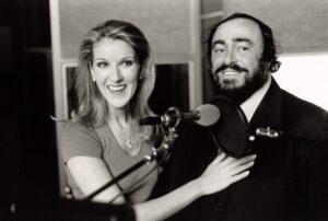 Luciano Pavarotti, Céline Dion