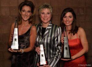 Céline Dion, Annie Lennox, Shania Twain