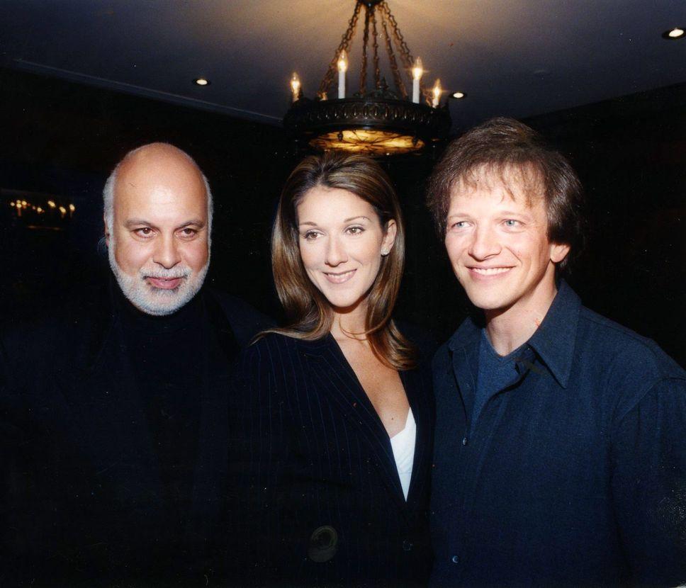 René Angélil, Céline Dion, André-Philippe Gagnon (Source: Luc Bélisle / Le Journal de Montréal)