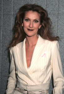 Celine Dion during 1998 Essence Awards at Madison Square Garden in New York City, New York, United States. (Photo by Ron Galella, Ltd./WireImage)