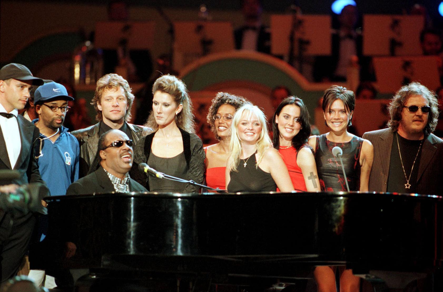 Eros Ramazzotti, Spike Lee, Bon Jovi, Celine Dion, Spice Girl, Zucchero