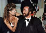 Céline Dion, Luciano Pavarotti (© WENN)