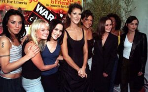 Céline Dion, The Spice Girls, The Corrs