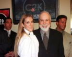 Celine Dion and Rene Angelil (CREDIT: Darrin Bush/Las Vegas News Bureau)