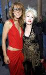 Céline Dion, Cyndi Lauper (Photo by KMazur/WireImage)