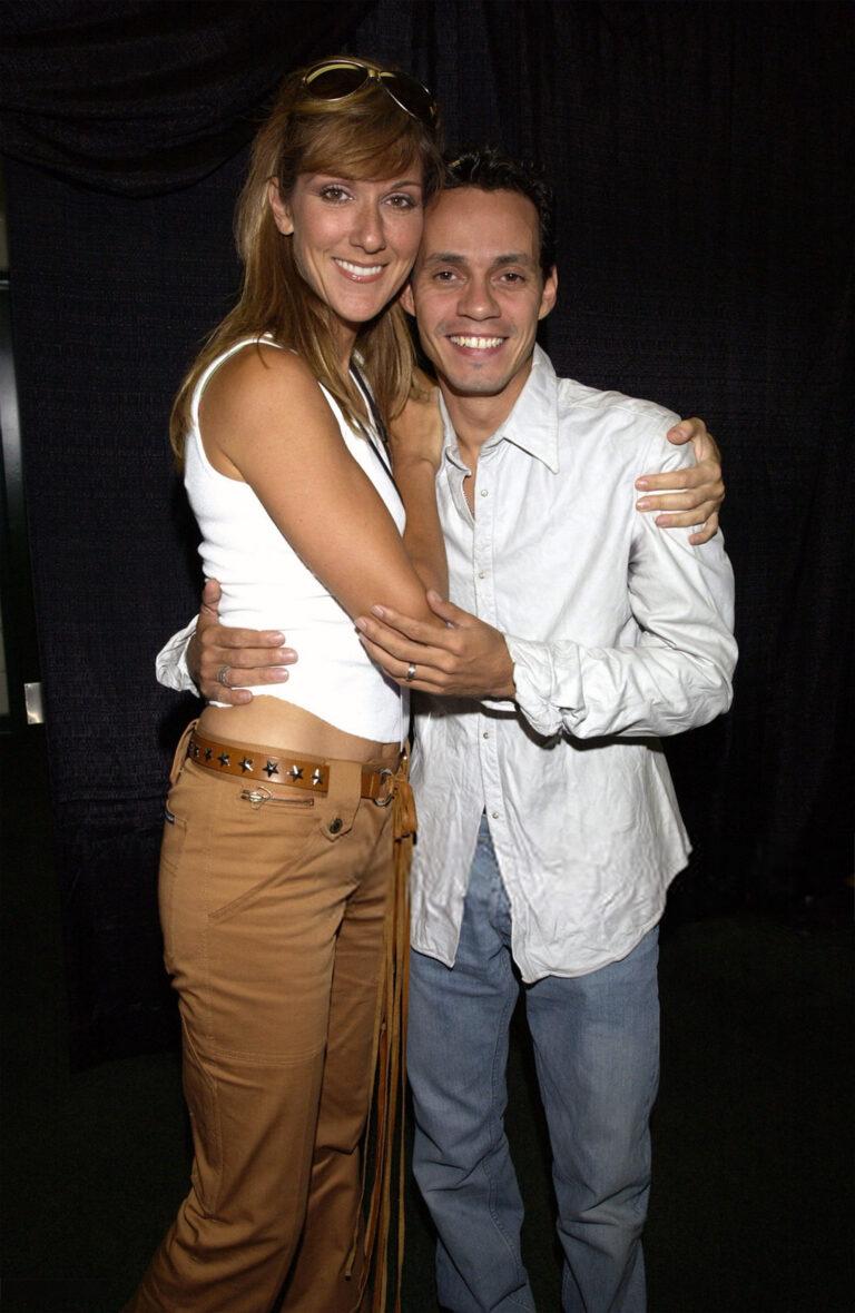 Céline Dion, Marc Anthony (Photo by KMazur/WireImage)