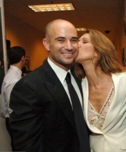 André Agassi, Céline Dion (Photo: Kevin Mazur/Getty Images)
