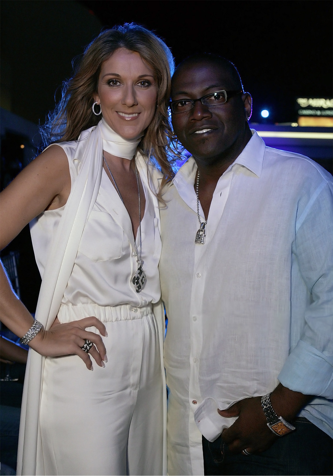 Celine Dion, Randy Jackson (Photo by Chris Weeks/WireImage)