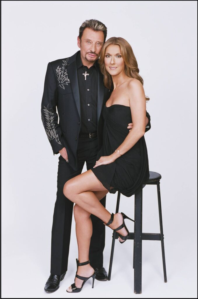 Johnny Hallyday, Céline Dion (Photo: Gérard Schachmes)