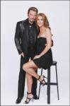 Johnny Hallyday, Céline Dion (Photo: Gérard Schachmes)