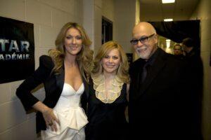 Céline Dion, Julie Snyder, René Angélil (Source: Thierry Avril / Le Journal de Montréal)
