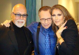 René Angélil, Céline Dion, Larry King