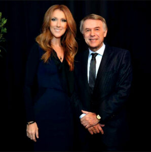 Céline Dion, Salvatore Adamo