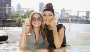 Julie Snyder, Céline Dion