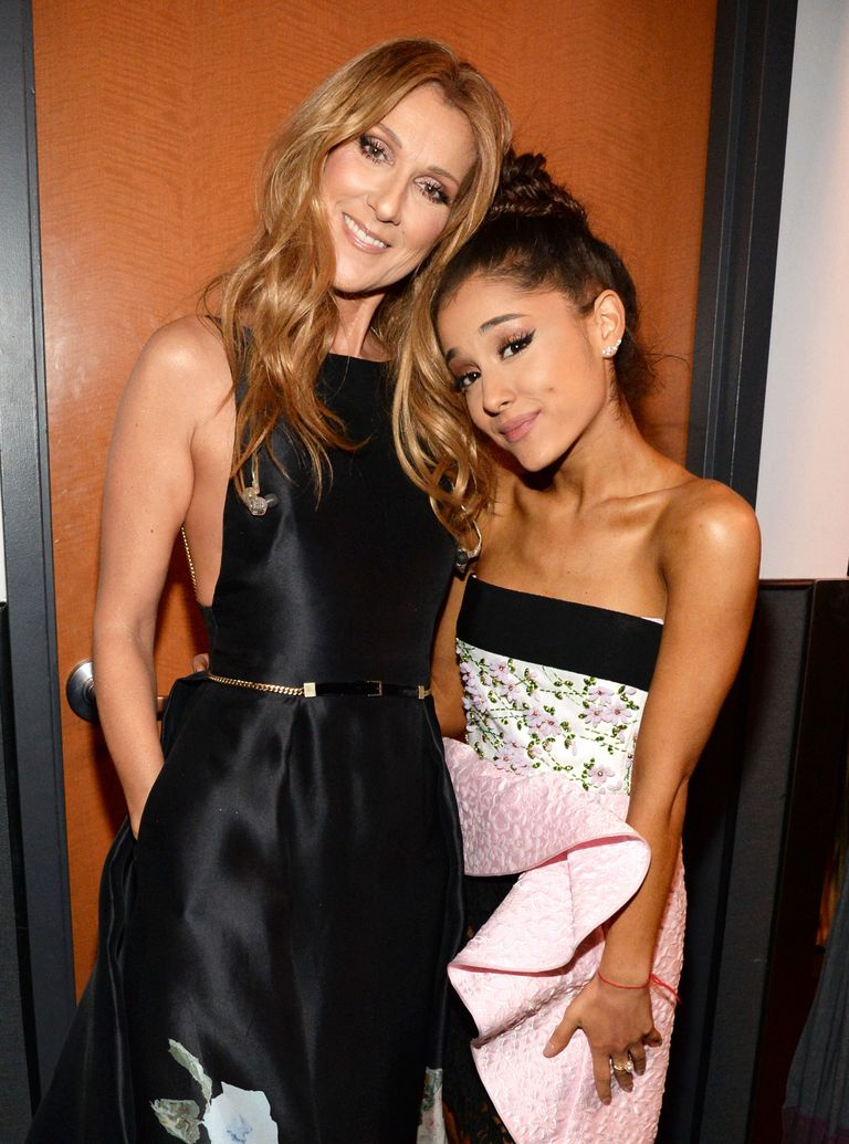 Céline Dion, Ariana Grande (Source: GettyImages)