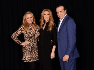 Gianna, Céline Dion, Chazz Palminteri (Photo: Cashman)