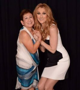 Ramona Almirez, Céline Dion (Photo: Cashman)