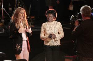 Céline Dion, Deborah Robert (ABC/Rick Rowell)