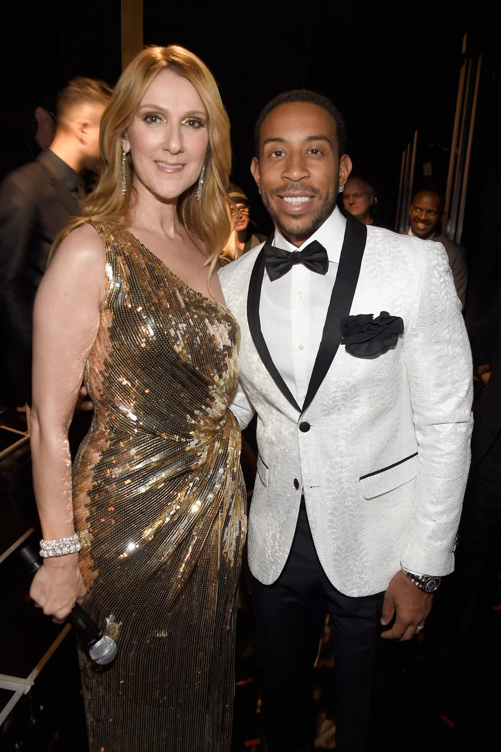 Céline Dion, Ludacris (Image Source: Getty / Frazer Harrison/BBMA2016)