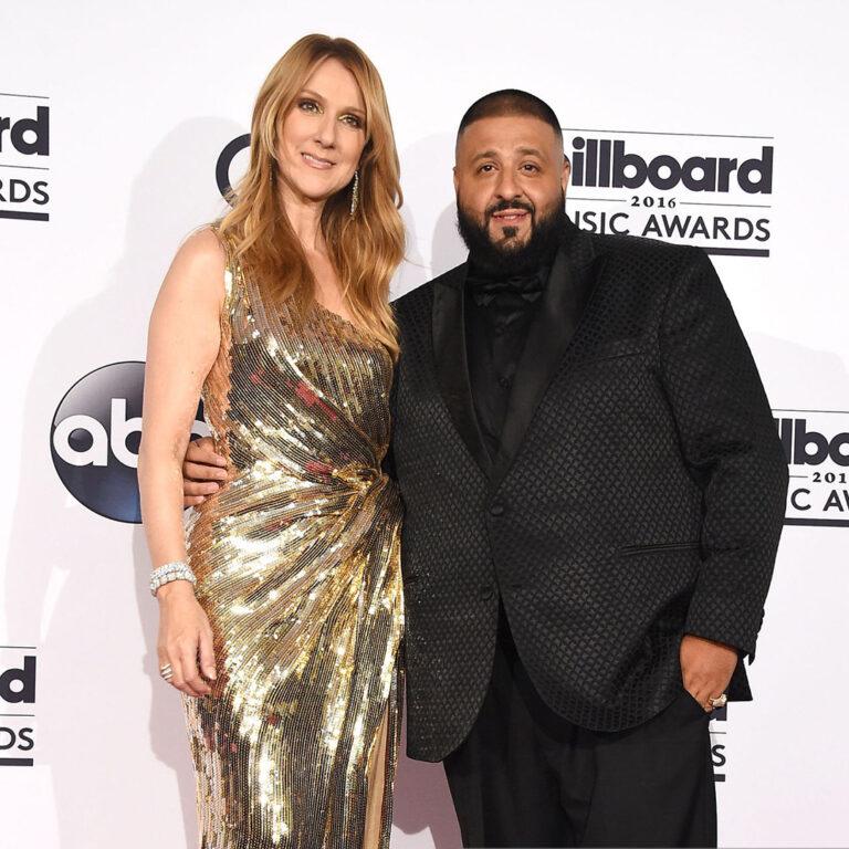 Céline Dion, DJ Khaled (Photo by Steve Granitz/WireImage)