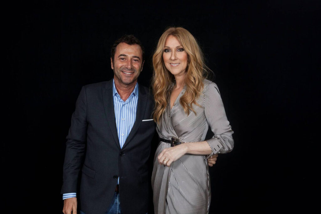 Bernard Montiel, Céline Dion