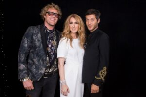 Céline Dion, Peter Dundas & Evangelo Bousis