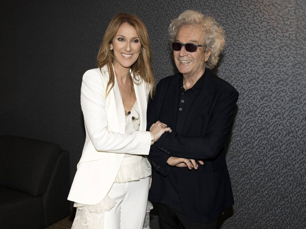 Céline Dion, Luc Plamondon (Photo: Olivier Samson-Arcand, OSA IMAGES)