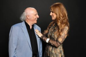 Gilles Vigneault, Céline Dion (Photo: Olivier Samson-Arcand, OSA IMAGES)