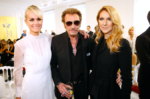 Laëticia Hallyday, Johnny Hallyday, Céline Dion (Photo: GettyImages)
