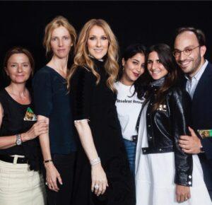 Sandrine Kimberlain, Céline Dion, Leila Bekhti, Géraldine Nakache