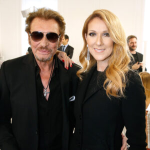 Johnny Hallyday and Celine DionJohnny Hallyday, Celine Dion (Photo by Bertrand Rindoff Petroff/Getty Images)