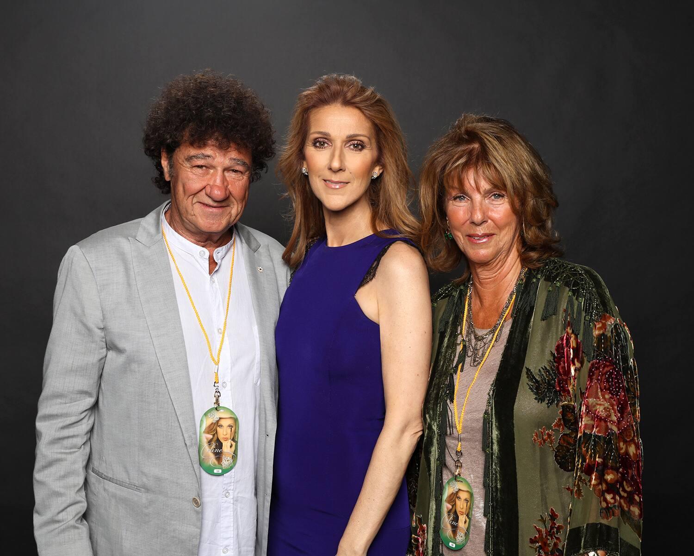 Robert Charlebois, Céline Dion, Laurence (Photo: Olivier Samson-Arcand, OSA IMAGES)