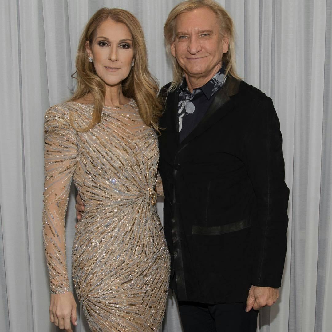 Céline Dion, Joe Walsh (Photo: Cashman)