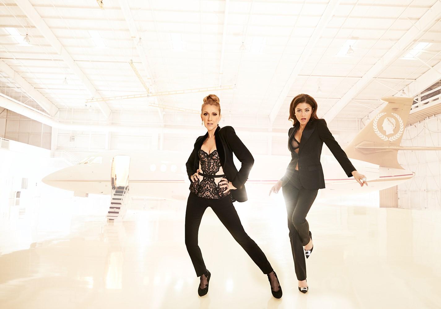 Céline Dion, Zendaya (Dewey Nicks)