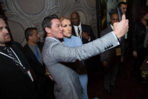 Luke Evans, Céline Dion