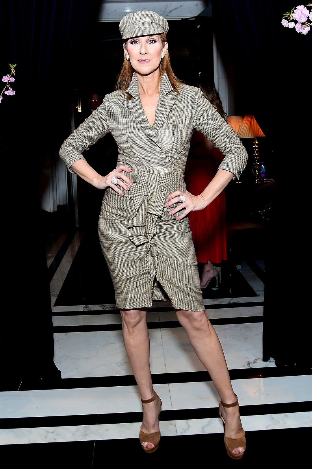 Céline Dion (MJ Photos/WWD/REX/Shutterstock)