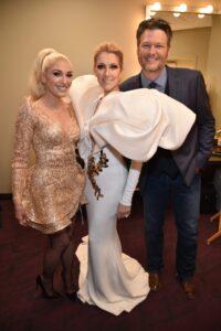 Gwen Stefani, Céline Dion, Blake Shelton (Getty Images)