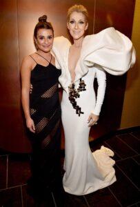 Lea Michele, Céline Dion (Photo: Kevin Mazur/BBMA2017/Getty Images for dcp)