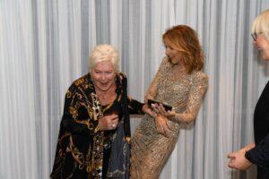 Line Renaud, Céline Dion (Photo: Cashman)