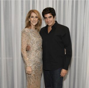 Céline Dion, David Copperfield (Photo: Cashman)