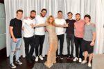 The Vegas Golden Knights, Céline Dion, René-Charles Angélil (Photo: Cahsman)