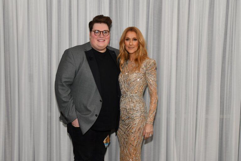 Jordan Smith, Céline Dion (Photo: Cashman)