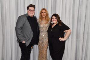 Jordan Smith, Céline Dion, Kristen Smith (Photo: Cahsman)