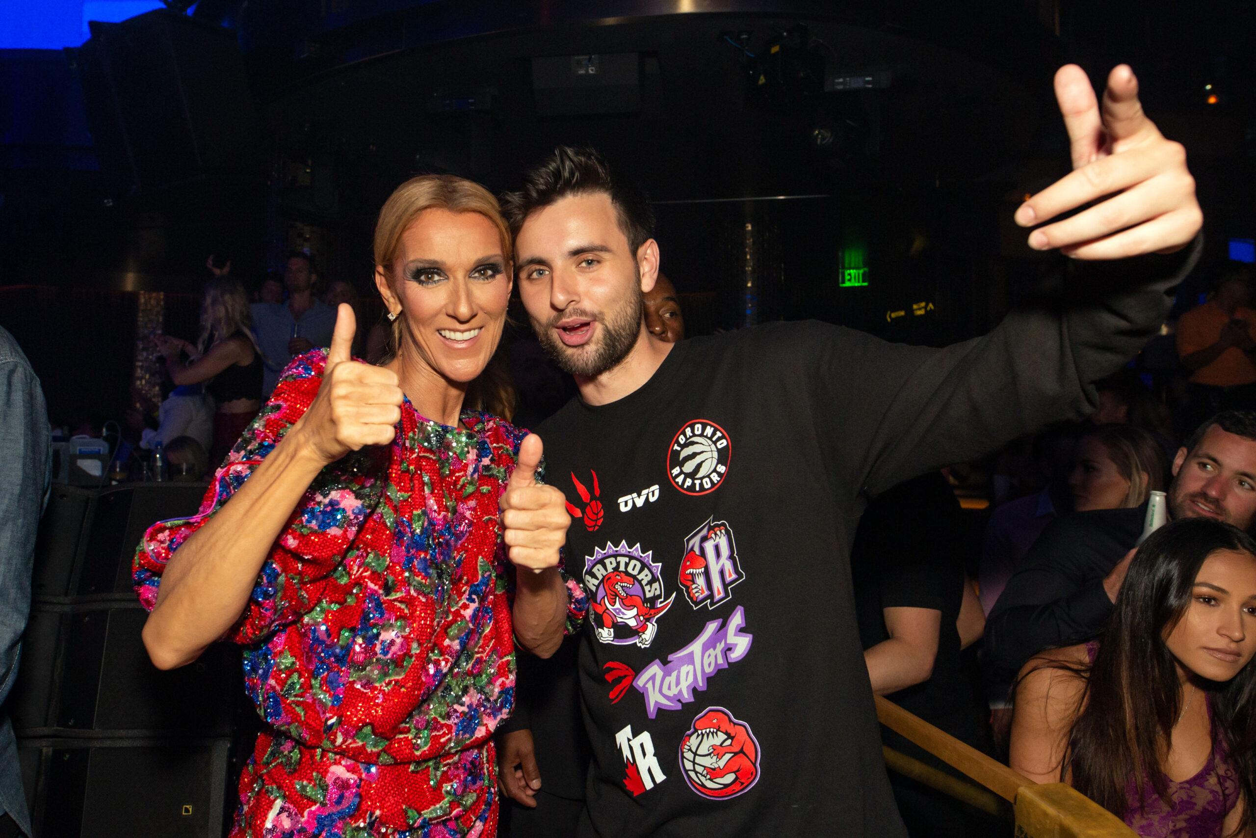 Céline Dion, DJ Dzeko (Credit: Wolf Productions)