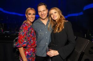 Celine Dion, DJ Tiësto, and Annika Backes (Source: Wolf Productions)