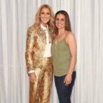 Céline Dion, Liz Rodrigues (Photo: Cashman)