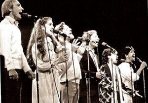 Céline Dion, Jean-Pierre Ferland, Claude Léveillée (Source: archives Fibrose Kystique Canada)